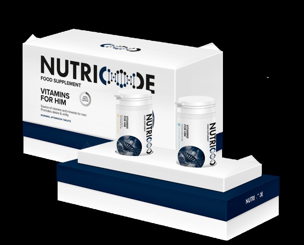 Vitamins for him - FIT6 Nutricode FM World - program odchudzający