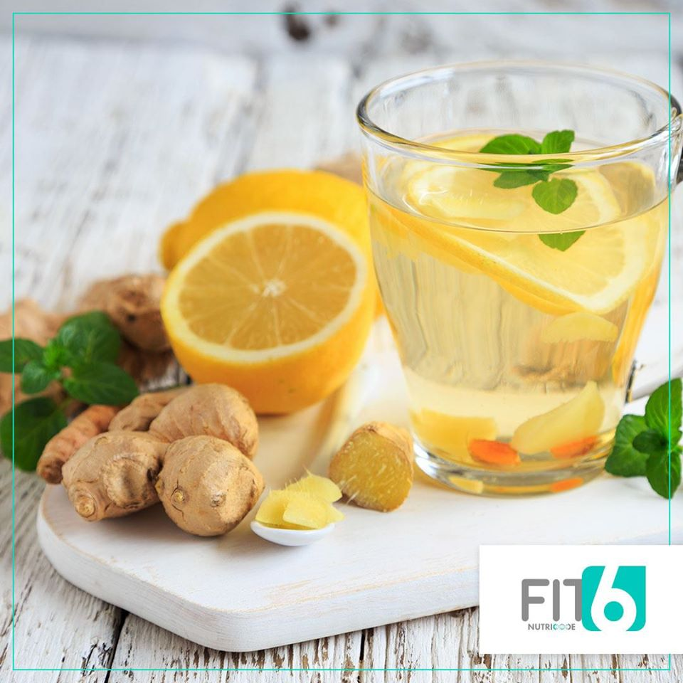 napar z imbiru i kurkumy przepis fit6 nutricode natalia ryńska