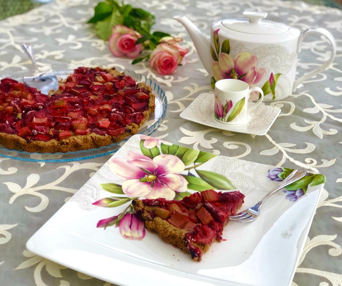 fit przepis na ciasto z owocami