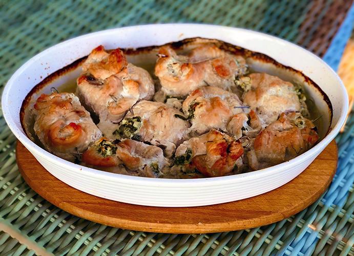 indycze roladki nadziewane serem feta i kalarepą - fit6 - natalia ryńska - przepisy, zdrowe gotowanie, odchudzanie, dieta